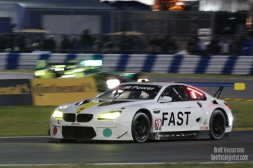 No 19 BMW Team RLL BMW M6 GTLM, Rolex24, Daytona 2017