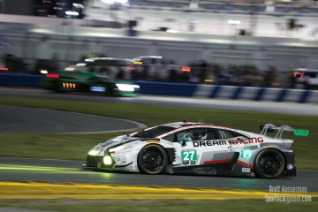 No 27 Dream Racing Motorsport Lamborghini Huracan GT3, GTD, Rolex 24, Daytona 2017