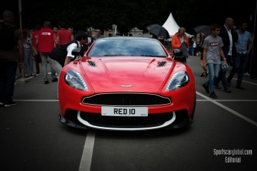 Aston Red 10, FIA WEC 24h Le Mans Drivers Parade - Circuit de la Sarthe - 3rd June 2018