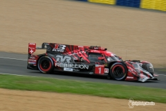 No 1 REBELLION RACING REBELLION R13 Andre LOTTERER Neel JANI Bruno SENNA, FIA WEC 24h Le Mans Race - June 2018