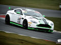 No 44 Generation AMR SuperRacing Aston Martin Vantage GT4, British GT Media Day, Snetterton 2016