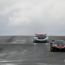 #4 Tolman Motorsport. McLaren 570S GT4. Michael O'Brien. Charlie Fagg. 2018 British GT Championship Media Day Donington Park Session 1