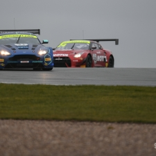 #11 TF Sport. Aston Martin Vantage GT3. Mark Farmer. Nicki Thiim. 2018 British GT Championship Media Day Donington Park Session 1