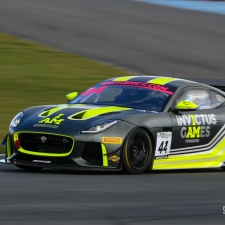 #11 TF Sport. Aston Martin Vantage GT3. Mark Farmer. Nicki Thiim. 2018 British GT Championship Media Day Donington Park Session 2