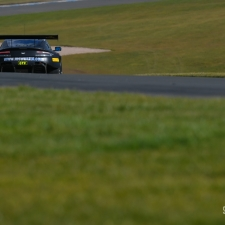 #1 TF Sport. Aston Martin Vantage GT3. Derek Johnston. Marco Sorensen. 2018 British GT Championship Media Day Donington Park Session 2