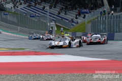 No 15 RLR MSport Ligier JS P3 - Nissan, LMP3, ELMS Red Bull Ring 2018