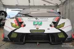 No 27 Dream Racing Motorsport Lamborghini Huracan -GT3 GTD, IWSC Sebring Test, February, 2017