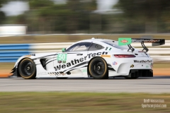 No 50 Riley Motorsports - WeatherTech Racing Mercedes-AMG GT3 GTD, IWSC Sebring Test, February, 2017