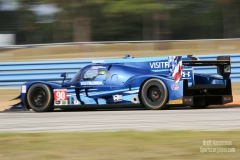 No 90 VisitFlorida Racing Multimatic-Riley DPi, IWSC Sebring Test, February, 2017