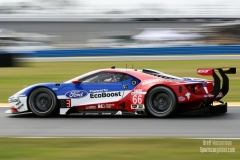 No 66 Ford Chip Ganassi Racing Ford GT, GTLM, Rolex 24, Daytona 2017