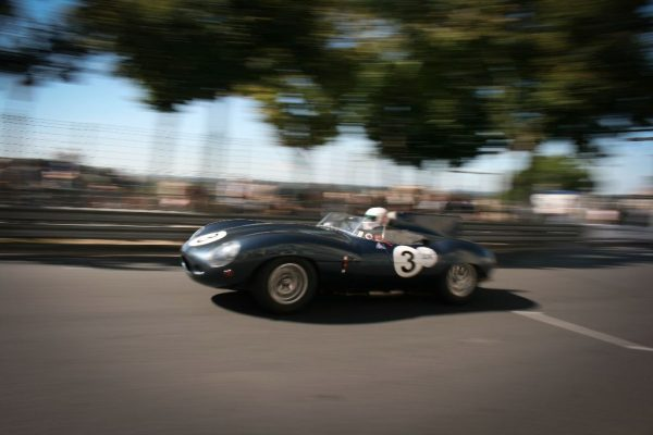 Harry Bryzmann's 1956 Jaguar D-Type. Circuit des Remparts - SportsCarGlobal