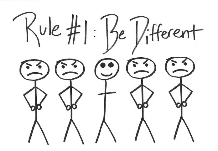 Be Different by JDS