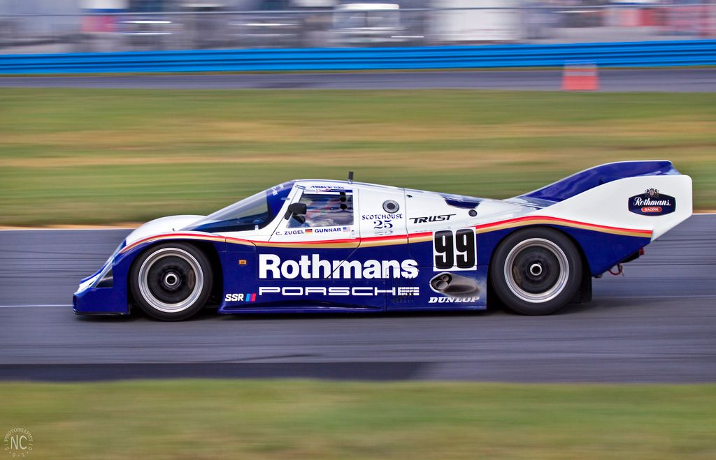 Le Mans 40 Group C Cars On Grid For Classic