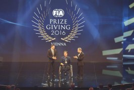 Le Mans: Frédéric Sausset Scoops First Ever FIA President's Award